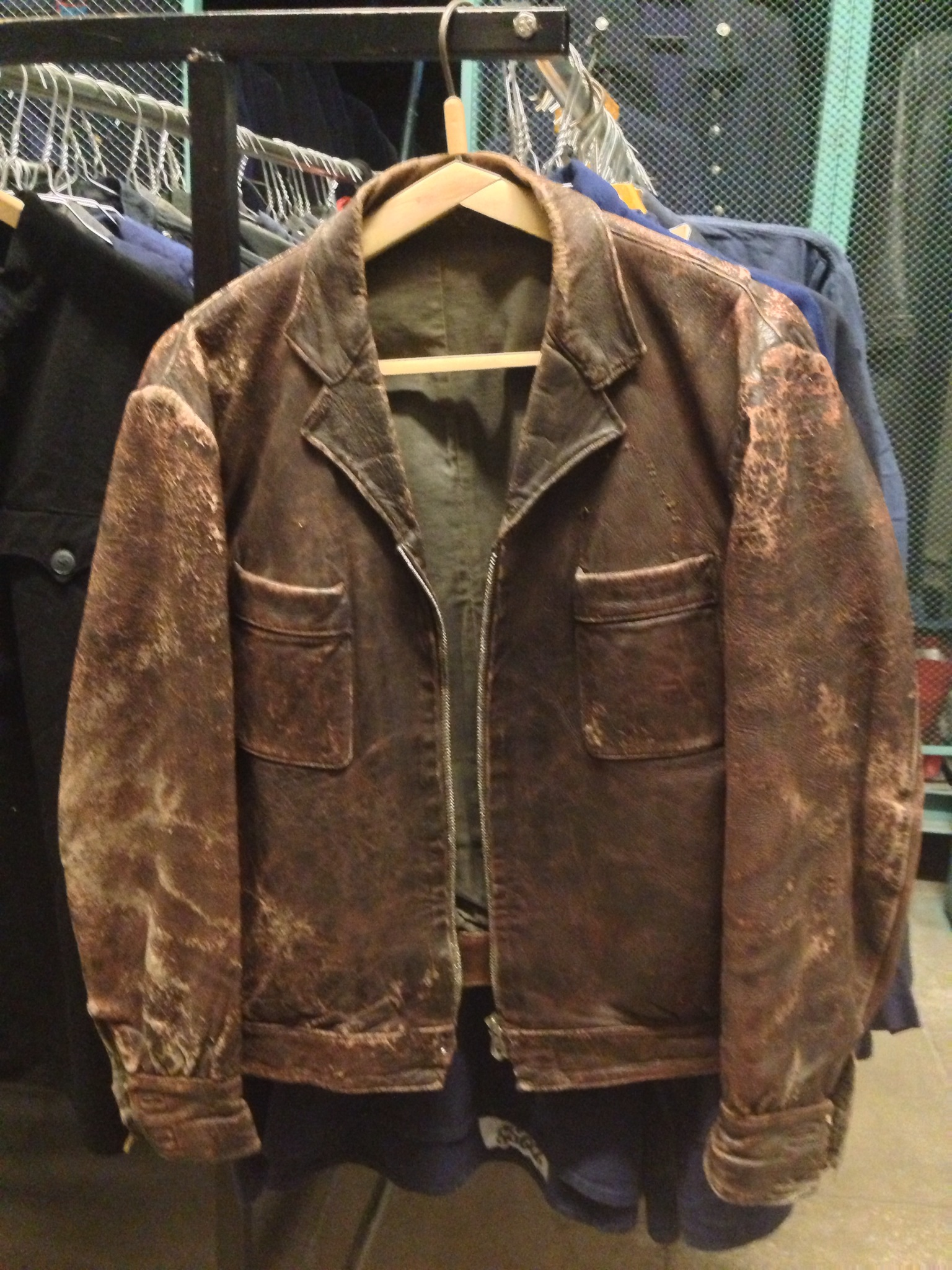 2a1f7dccf WWII Russian Flight jackets | Page 4 | Vintage Leather Jackets Forum