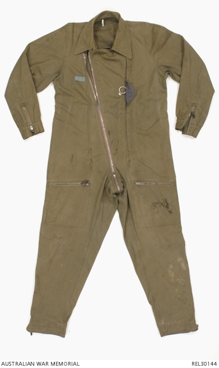 7863f7a5d57 One piece summer weight flying suit as used by Luftwaffe forces during  World War Two, and normally referred to as ...