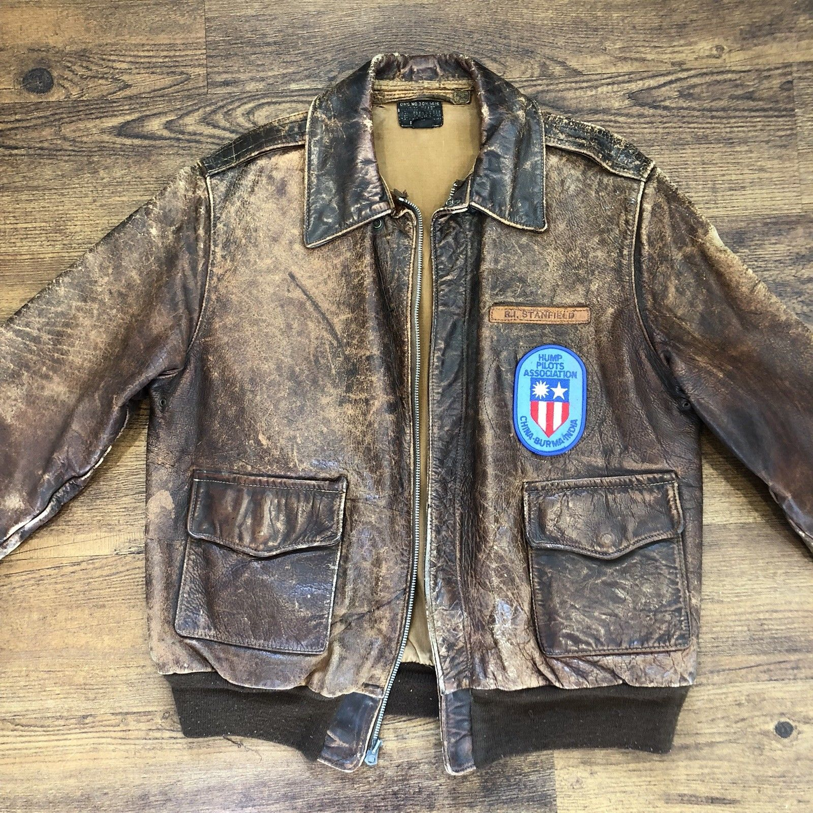 More Great Looking Chinese Military Leather Jacket Repros
