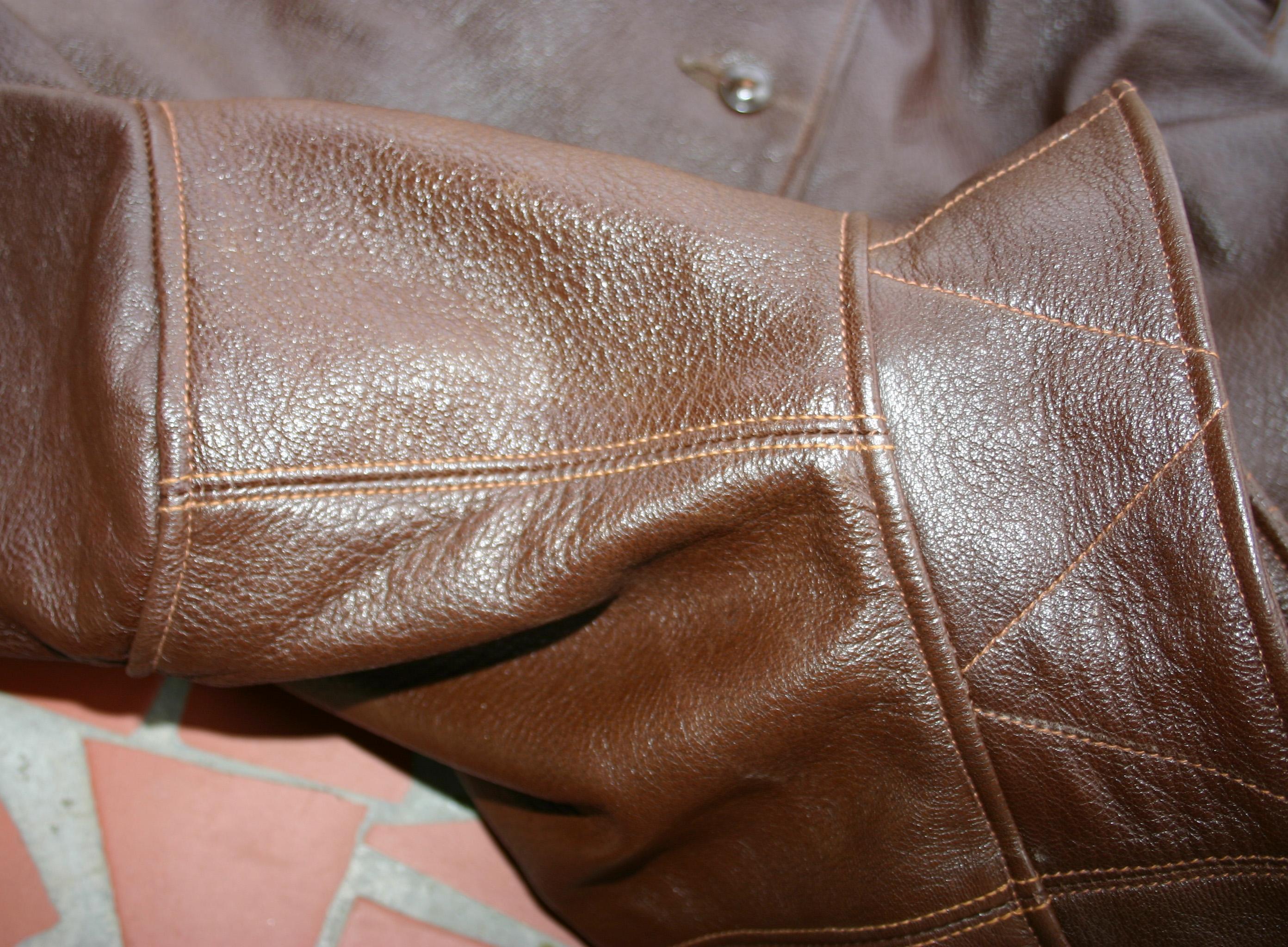 Left Shoulder French Seam | Vintage Leather Jackets Forum